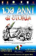 [MD2072] CPM - 150 ANNI DI STORIA - SPECCHIA (LE) PALAZZO RISOLO - CON ANNULLO 12.8.2011 - NV - Histoire