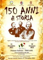 [MD2073] CPM - 150 ANNI DI STORIA - TRICASE (LE) PALAZZO GALLONE - CON ANNULLO 17.12.2011 - NV - Histoire
