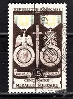 FRANCE 1952 - Y.T. N° 927 - OBLITERE - Francia