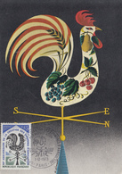 Carte Maximum  1er  Jour   FRANCE  50éme  Anniversaire  De  La  Création  Des  Chambres  D' Agriculture   1973 - Cartes-Maximum