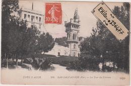 83 San-Salvadour - Cpa / La Tour Du Château. - Autres Communes