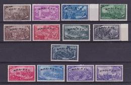 1948 Italia Italy Trieste A  RISORGIMENTO Serie Di 13v. MNH** - Nuevos