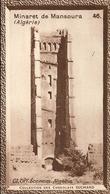 Image N° 46 Chocolat Suchard Collection Coloniale Algérie Minaret De Mansoura - Suchard