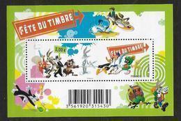 France 2009 Bloc Feuillet N° F4341 Neuf Fête Du Timbre Dessins Animés à La Faciale - Blocs & Feuillets