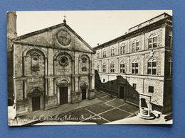 Cartolina Pienza - La Cattedrale E Palazzo Piccolomini - 1956 Ca. - Siena