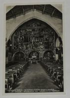 VERCELLI - Varallo Sesia - Interno Chiesa Santa Maria Delle Grazie - Affreschi Del Gaudenzio Ferrari - 1935 - Vercelli