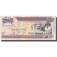 Billet, Dominican Republic, 50 Pesos Oro, 2008, 2008, KM:176b, NEUF - Dominicaine