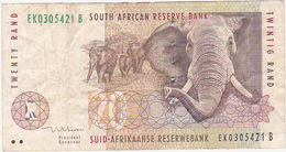 Afrique Du Sud / TWENTY RAND / SOUTH AFRICAN RESERVE BANK / ELEPHANT - Afrique Du Sud