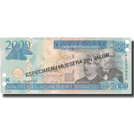 Billet, Dominican Republic, 2000 Pesos Oro, 2003, 2003, KM:174s2, NEUF - Dominicaine