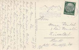 """ZK (Garmisch)  PZ (Reich) """" GARMISCH PARTENKIRCHEN 10.2.36"""" + """" OLYMPISCHE WINTERSPIELE  / 6.-16.2.1936"""" - Winter 1936: Garmisch-Partenkirchen"""