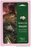 New Zealand - 1993 Telecom Montage - $5 WWF - NZ-P-3 - Mint - New Zealand