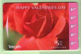 New Zealand - Gift Cards - 1995 Valentines Day - NZ-G-12 - VFU - New Zealand