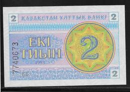 Kazakhstan - 2 Tyin - Pick N°2  - NEUF - Kazakhstan