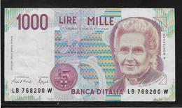 Italie - 1000 Lire - Pick N°114 - TTB - [ 2] 1946-… : République