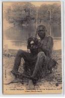 AFRIQUE CENTRALE : Congo Francais Prisonnier Dans Un Filet Avec Les Entraves Aux Pied A Betou - Très Bon état - Central African Republic