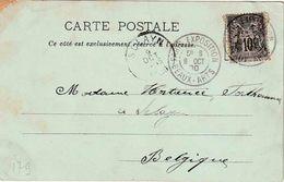 """FRANKRIJK : EXPO PARIS 1900 ZK(Le Grand Palais)  PZ (F)  """" RARIS EXPOSITION  BEAUX - ARTS / 8 OCT 00"""" - 1900 – Paris (France)"""