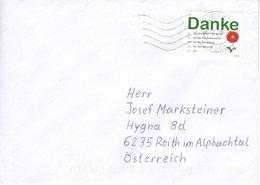 """Brief Von 1000 Wien Mit Marke """" Danke """" 2018 - 2011-... Briefe U. Dokumente"""