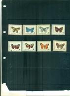 BULGARIE PAPILLONS 8 VAL  NEUFS A PARTIR DE 0.90 EUROS - Schmetterlinge