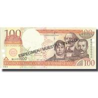 Billet, Dominican Republic, 100 Pesos Oro, 2001, 2001, Specimen, KM:167s2, NEUF - Dominicaine