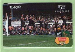New Zealand - 1994 South Africa Rugby Test Series $5 Haka - NZ-D-19 - Mint - New Zealand