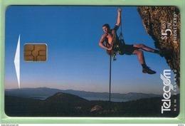 New Zealand - Chipcards - 2000 Extreme Sports - $5 Ab-sailing - VFU - Card 048 - New Zealand