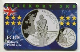 TK 34918 DENMARK - P282 Great Britain - Jack Beresford 600 Ex. MINT ! - Denmark