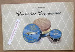 SA Des Pècheries Iraniennes (Caviar) 1958 (Iran) - Old Paper