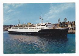 76 Dieppe N°217 201 Le Départ Du VILLANDRY Bateau Navire Grues - Dieppe