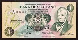 Scozia Scotland 1  Pounds 1986 Fds LOTTO 2059 - [ 3] Scotland