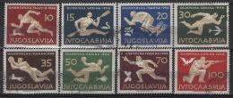 Jugoslavia 1956 Unif. 706/13 Usati/Used VF - 1945-1992 Repubblica Socialista Federale Di Jugoslavia