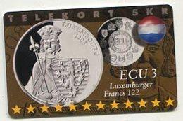 TK 34923 DENMARK - P294 Luxembourg 600 Ex. MINT ! - Denmark
