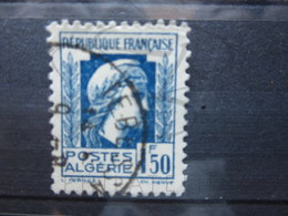 """VEND TIMBRE D ' ALGERIE N° 214 , CACHET """" TEBESSA """" !!! - Used Stamps"""