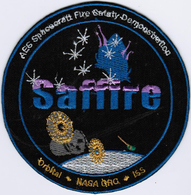 ISS Expedition 52 Saffire International Space Station Iron On Embroidered Patch - Patches