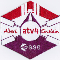 ISS Expedition 36 ATV-4 International Space Station Iron On Embroidered Patch - Scudetti In Tela