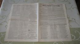ENTRE CORNEBARRIEU Et COLOMIERS - A VENDRE LE BEAU DOMAINE Dit De GAROUSSAL - ANNONCE DE 1840. - Newspapers