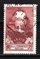 FRANCE 1936 / 1937 -  Y.T. N° 335 - OBLITERE - Oblitérés