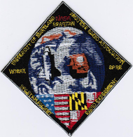 Human Space Flights STS-72 Endeavour (10) USA Payload Iron On Embroidered Patch - Patches