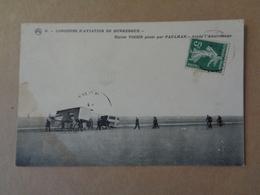 Concours D'aviation De Dunkerque , Biplan Voisin Piloté Par Paulhan ,après L'atterrissage  ,n°6 - Dunkerque