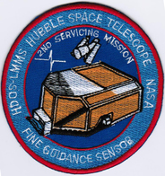Human Space Flights STS-82 Discovery (22) USA Sensor Iron On Embroidered Patch - Patches