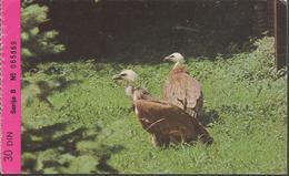 BIRDS GIPS FULVUS ZOO ZAGREB, PC, Uncirculated 1973 - Vögel