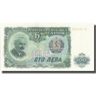Billet, Bulgarie, 100 Leva, 1951, 1951, KM:86a, SPL - Bulgarie