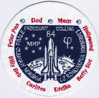 Human Space Flights STS-84 Atlantis (19) USA Nick Iron On Embroidered Patch - Patches