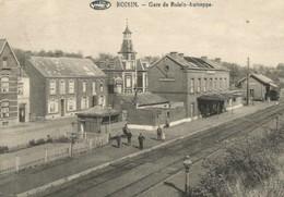 Reproduction Roisin Autreppe Honnelles  Hainaut   Gare Station - Honnelles