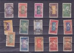 DAHOMEY : Y&T : Lot De 15 Timbres Oblitérés - Dahomey (1899-1944)