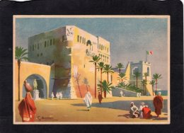 78276    Italia,   Lotteria Di  Tripoli -  Acquistate Un  Biglietto!, S.  Bonelli,   NV - Publicité