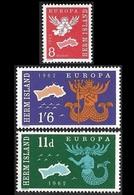 HERM ISLAND   1962 - Série Europa - NEUFS** - Emissions Locales