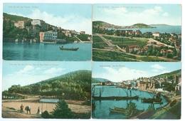 4x Turkey, Istanbul, Iles De Princes. Printed Pcs, Unused. - Turkey