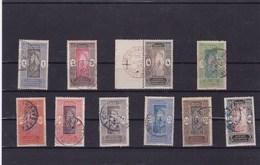 DAHOMEY : Y&T : Lot De 10 Timbres Oblitérés - Dahomey (1899-1944)