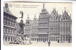 BELGIUM ANVERS POSTED - Unclassified