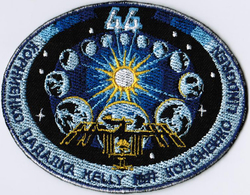 ISS Expedition 44 International Space Station Iron On Embroidered Patch - Patches